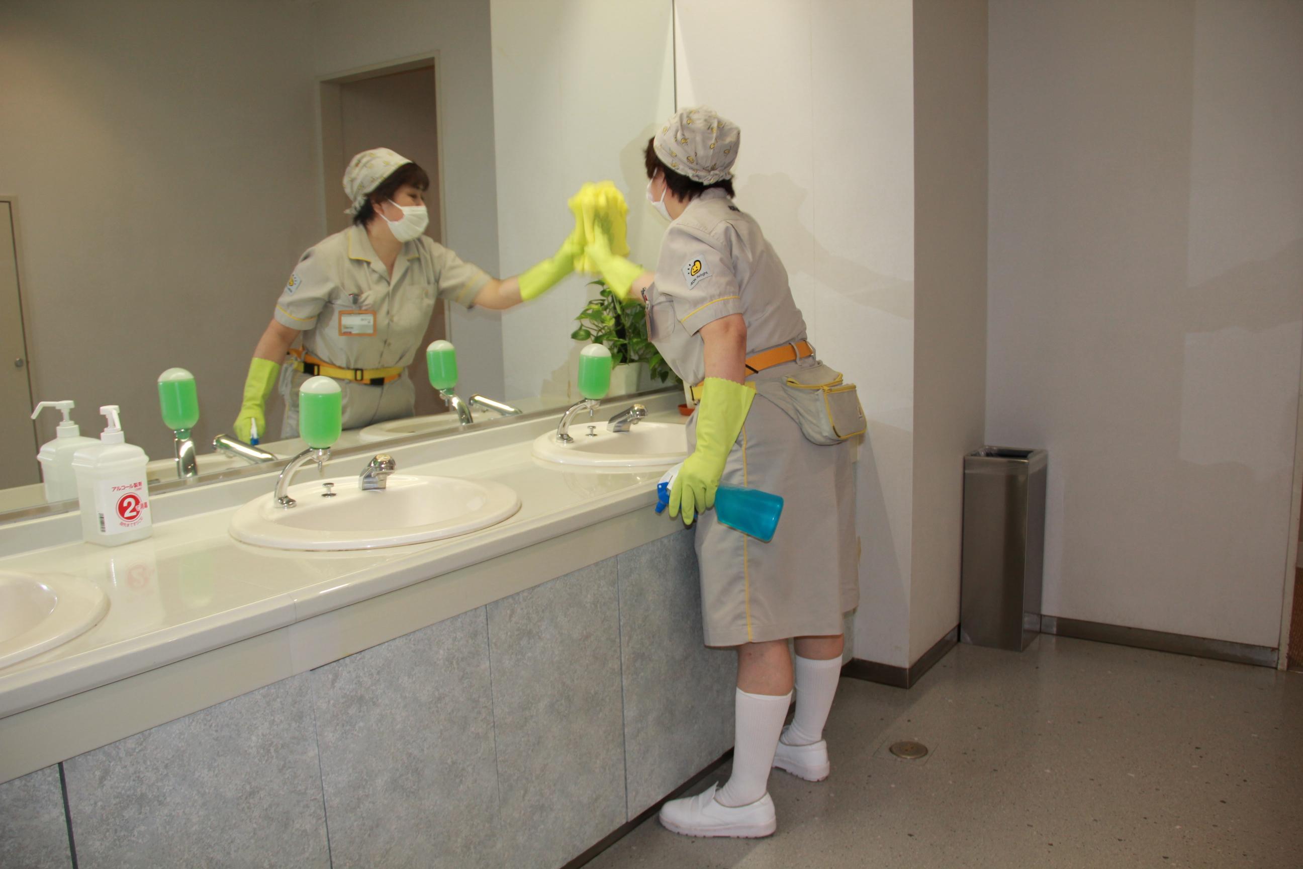 [パ]イオンディライト株式会社 東日本統括(勤務地:大和徳洲会病院)の求人画像